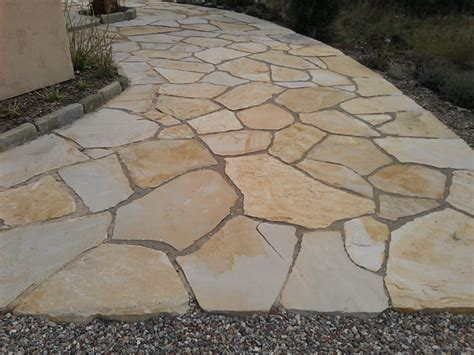 aspen valley buff flagstone pine s stone company