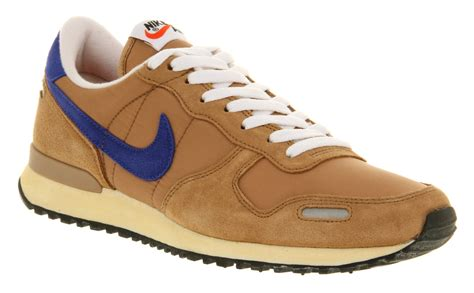 womens nike air vortex vintage shale brown wht trainers