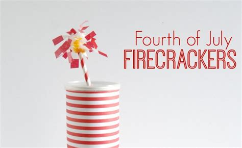 How To Make Paper Firecrackers - fourth of july paper firecrackers tauni co