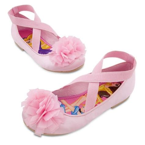 disney princess slippers disney store disney princess pink ballet flats shoes