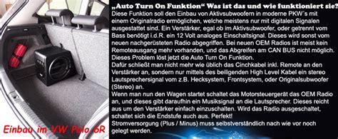 Aktiv Subwoofer Auto Axton by Axton Axb25a Aktiv Subwoofer Mit Verst 196 Rker Kabelset