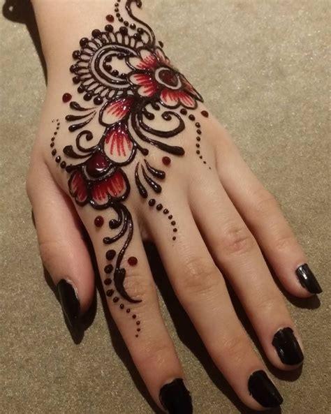 tato henna tangan simple henna simple dan cantik best image hd