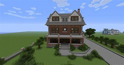 Minecraft Brick House by Late 1800 S Brick House Minecraft Project Sickness And