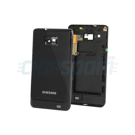 Softcasejellycasesoftjacket Samsung Sii I9100 back cover samsung gakaxy sii i9100 black chipspain