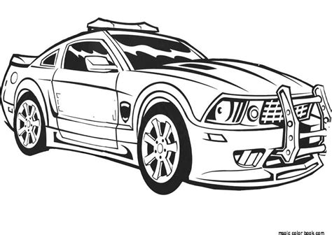 coloring pages of police cars police car coloring pages online free