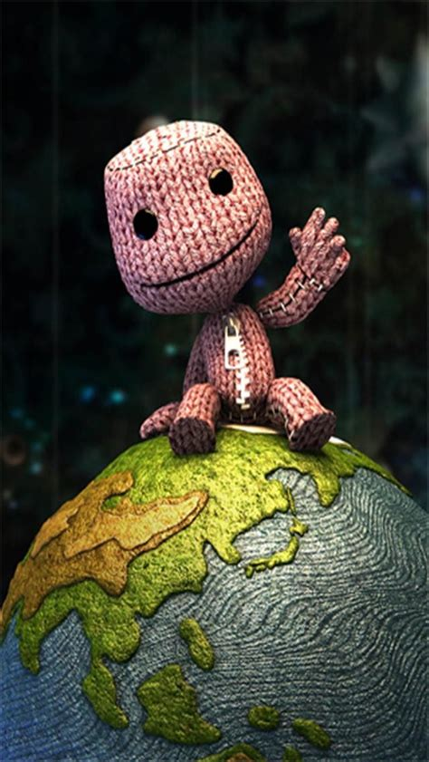 best big planet sackboy wallpaper wallpapersafari