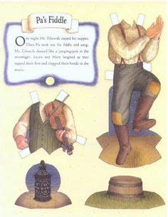 little house on the prairie paper dolls before five in a row by mccarthys05 on pinterest little