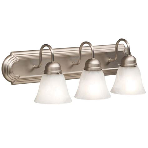 nickel bathroom light fixtures lightingshowplace com 5337ni in brushed nickel by kichler