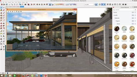 Imagenes Sketch Up | opciones de render para sketchup