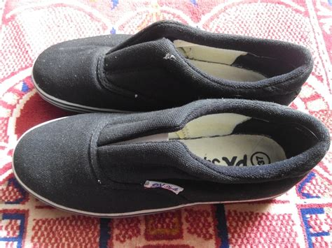 Sepatu All Hitam jual sepatu px style 128 hitam model karet tengah harga