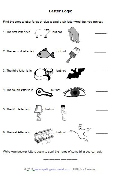 printable spelling games for adults brain teaser worksheets for spelling fun brain teasers