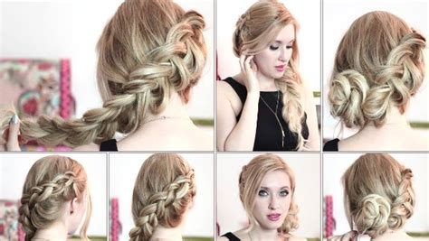 simple and easy hairstyles for party step by step party hairstyles for long hair step by step 2017 2018 for