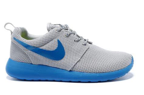 Nike Roshe Blue Grey Nike 078 nike roshe run mens light gray blue 63 99 nike free run