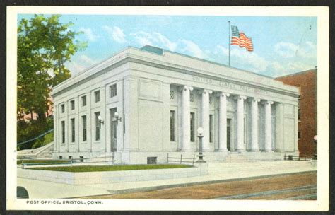 Bristol Ct Post Office by Postcards
