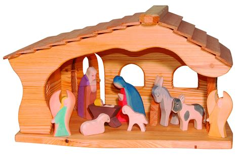 krippe stall cle o f 252 r kinder krippe stall weihnachten