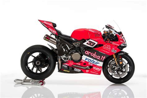 Ducati Rennmotorrad by Worldsbk Ducati Unveils Final Ducati Panigale V Twin Race