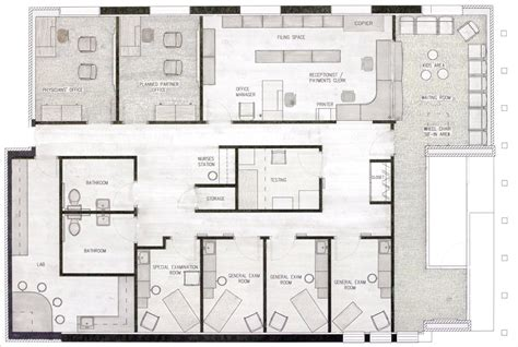 free medical office floor plans medical suite samara tumonong