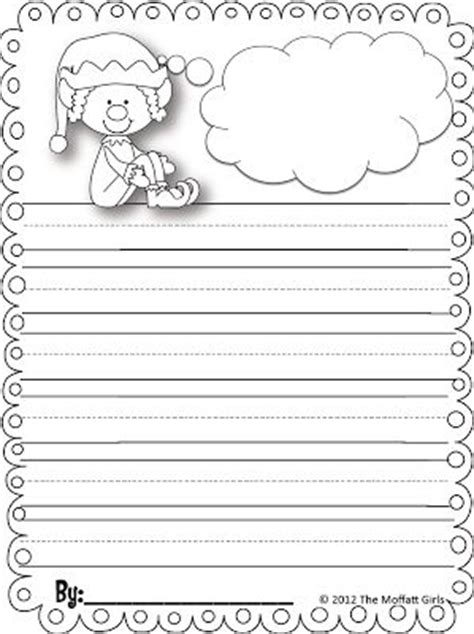 printable paper elf writing papers elves and elf on the shelf on pinterest