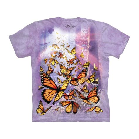 Monarch T Shirt monarch butterflies t shirt the mountain clothingmonster
