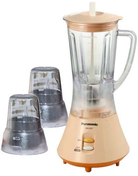 Mixer Panasonic Di Malaysia Panasonic Blender Mx 337n 1000 Ml Malaysia Mixer Grinder Price Review And Buy In Saudi
