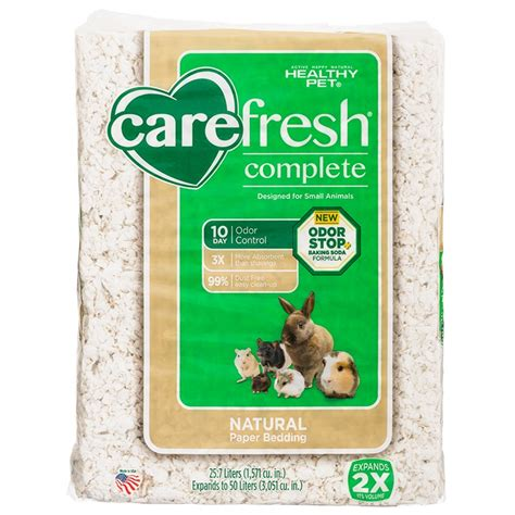 carefresh bedding carefresh carefresh complete small animal bedding with