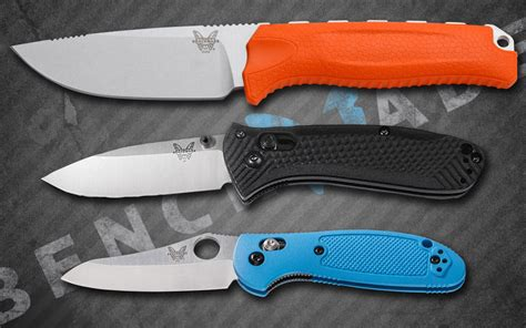 three great benchmade knives for 100 knife newsroom