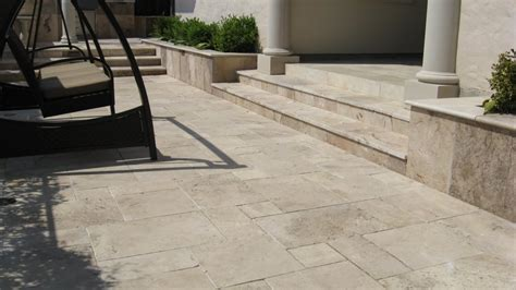 Travertine Patio Pavers Travertine Patio Pavers Modern Patio Outdoor