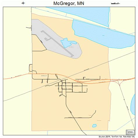 mcgregor minnesota map 2739014