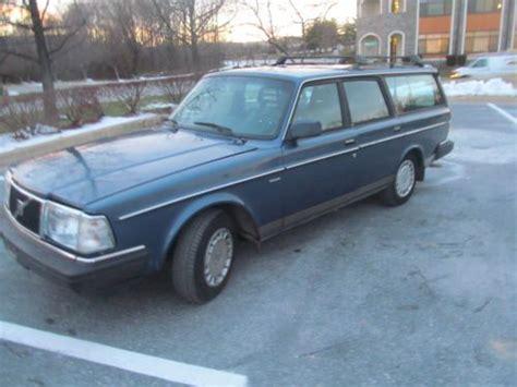 1991 volvo station wagon purchase used 1991 volvo 240 station wagon auto 136k