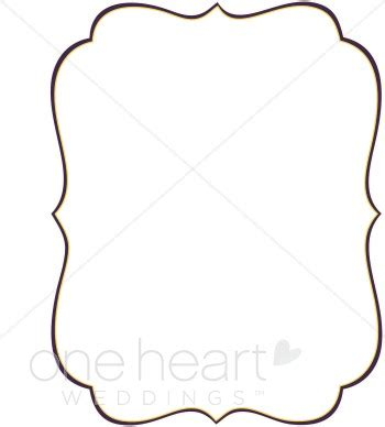 bracket card template stylish bracket clipart wedding borders