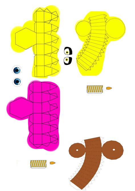 Cupcake Papercraft - pack cupcake fnaf by curtocircuito on deviantart