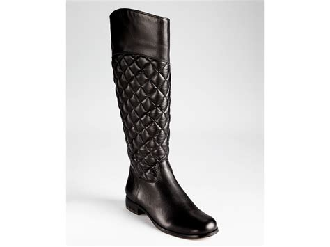 Corso Como Quilted Boots by Corso Como Boots Santona Quilted In Black Lyst