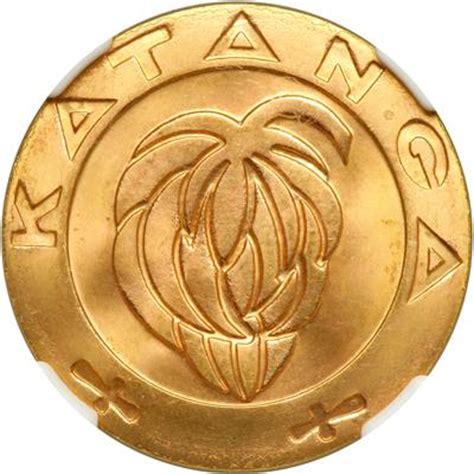 Koin Koleksi Katanga 1 5 Francs 1961 2 Bronze Coins Set katanga 5 francs 1961