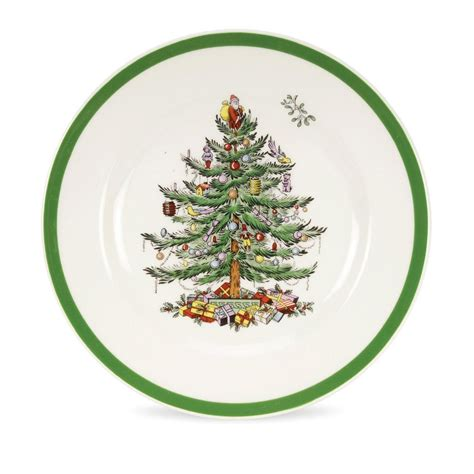 spode 4300076 christmas tree salad plate set of 4