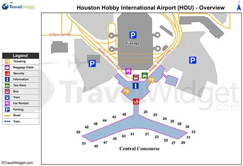 texas airport terminal map iah terminal a map houston airport terminal a map texas usa