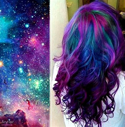 colour style the very best of galaxy hair and space hairstyles