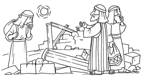nehemiah coloring pages www imgkid com the image kid