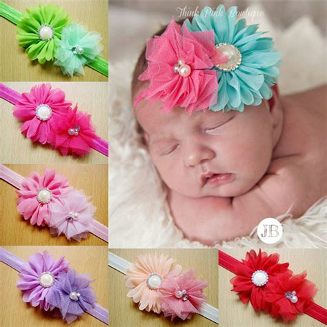 infant flower headband babies pearl lace hairband toddler aliexpress buy wholesale infant headbands fabric