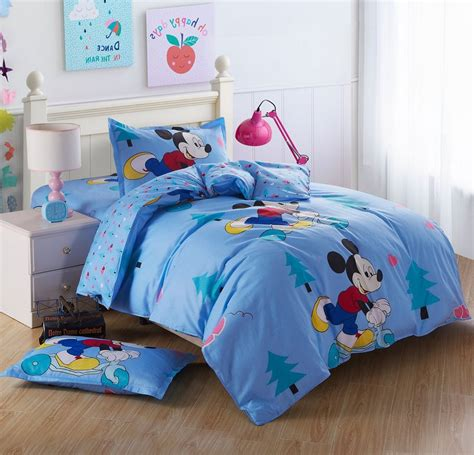 very cute kids cartoon bedding set twin size 3 piece 100