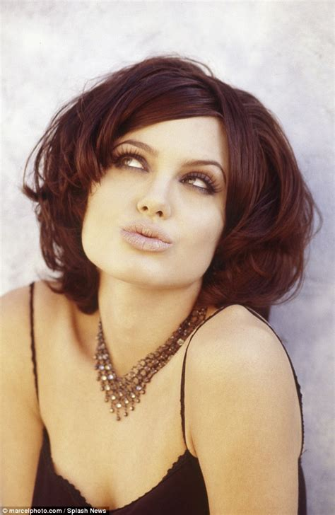 what were the black hairstyles images in 1995 sexy angelina jolie pictures you have never seen before