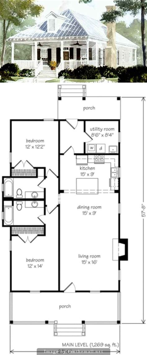 small cottage floor plans style house and cottage on