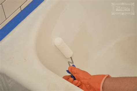 bathtub reglazing diy diy bathtub refinishing beautiful matters