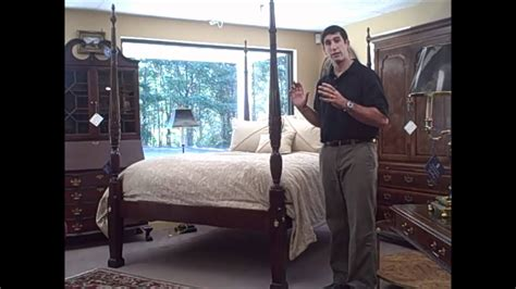council craftsman queen  poster bed   piece   week  youtube