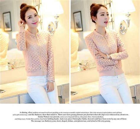 Jaket Fashion Wanita Trendy jaket korea wanita trendy dan fashionable