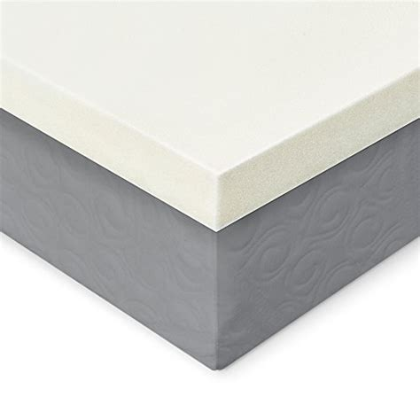 Mattress Topper Density by Memory Foam Mattress Topper 2 Inches Of 100 Real Visco Import It All