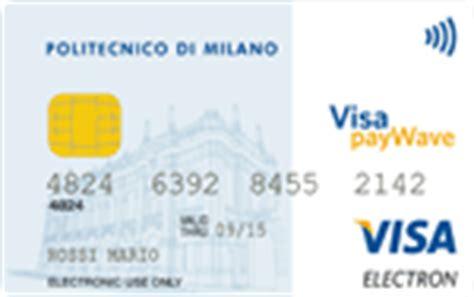 carta prepagata popolare di sondrio carta di ateneo informazioni sulle carte di credito