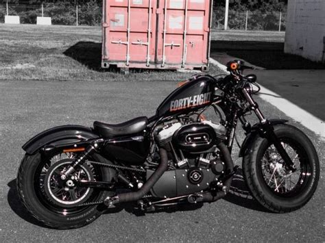 by brock cardiner harley forty eight custom motorcycle by rough crafts 2012 harley davidson sportster 48 forty eight xl1200x