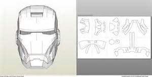iron helmet template foamcraft pdo file template for iron 7