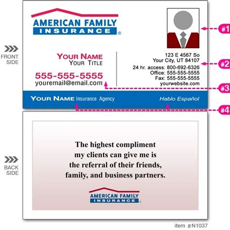 american commerce insurance company card template american family insurance card happyeasterfrom