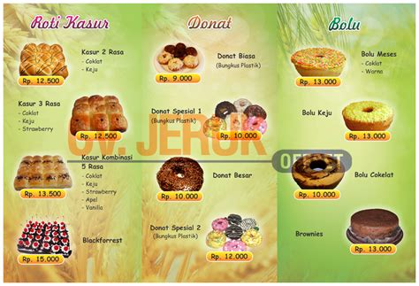 template undangan mandarin brosur della roti daftar harga percetakan jeruk offset cv